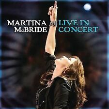 FREE US SHIP. on ANY 2 CDs! NEW CD Martina McBride: Live In Concert CD/DVD combo
