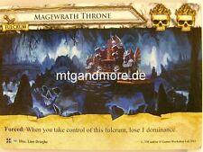 Warhammer Invasion - 1x Magewrath Throne  #059 - Cataclysm