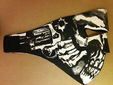 Assassin Motorcycle Biker Neoprene Face Mask Reversible Skeleton Skull Ski Mask