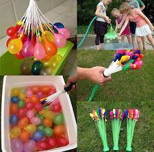 111 Fast Fill Magic Water Balloons Self Tying Bunch O Balloon Bombs Summer Toys
