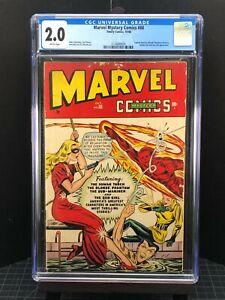 Marvel Mystery Comics #88 - CGC 2.0 - Scarce Classic