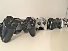 Four Playstation2 PS2 DualShock Controllers: 3 OEM, 1 Mad Catz Working, C-Grade