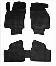 Rubber Car Floor Mats All Weather Alfombras Goma Carmats OPEL ASTRA G 1998-2004
