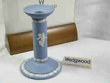 """A Wedgwood """" Jasper Ware """" Candle Stick """" Dancing Hours ,please see description."""