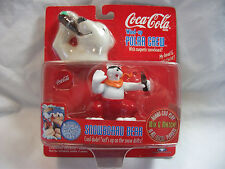 COCA COLA POLAR BEAR WIND UP ~SNOWBOARD BEAR~ 1998 MIP Factory Sealed
