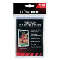 (100) Ultra Pro Premium Platinum Trading Card Sleeves Heavy Duty Acid/PVC Free