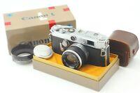 【N MINT in BOX w/ Hood】Canon VL2 35mm Rangefinder 50mm f/1.8 L39 Lens JAPAN
