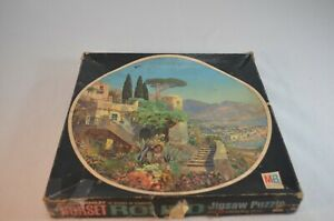 Vintage Circle Jigsaw Puzzle Milton Bradley MB