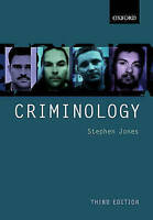 Criminology by Jones, Stephen Paperback Book The Cheap Fast Free Post