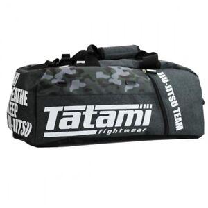 Tatami BJJ Camo Holdall JiuJitsu Gear Bag NoGi Training Rucksack MMA Backpack