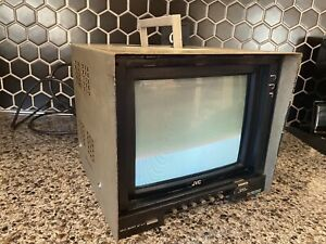 "JVC TM-A90U 9"" NTSC Color CRT Video Monitor 1984"