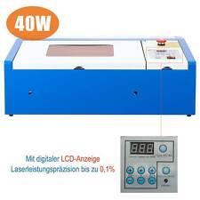 40W Profi CO2 Laser Graviermaschine Cutting Engraver Graveur Lasergravur