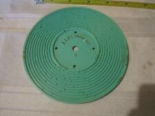 Fisher Price Record Player vintage 995 teal Hickory Dickory Dock Edelweiss 5