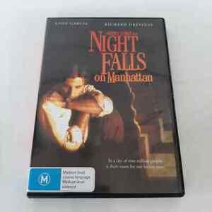 Night Falls On Manhattan (DVD) 1987 Film, Andy Garcia R4