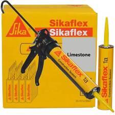 Sikaflex 1A Polyurethane Sealant, 10.1 oz, 24 Pack, Pro Caulk Gun, LIMESTONE