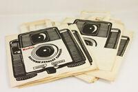 KODAK Lot de 10 sachets publicitaire Fabrication française vers 1960