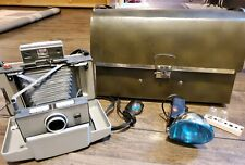 Polaroid 230 Land Camera Instant Film Camera With Flash 2 Bulbs Case and Timer