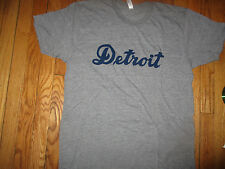 1938 DETROIT TIGERS #5 Hank Greenberg Shirt XL American Apparel Tri Blend NWOT