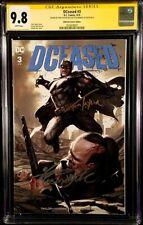 DCEASED #3 CGC SS 9.8 INHYUK LEE VARIANT ZOMBIE BATMAN JOKER HARLEY QUINN