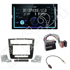 JVC kw-x830bt Media Receiver + 2-din KIT INSTALLAZIONE BMW 1er e81/892/87/88 dal 2007