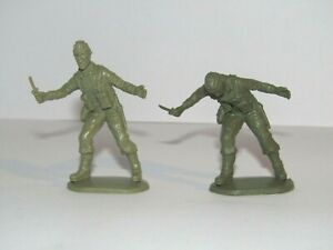 WWII MATCHBOX 1/32 BRITISH COMMANDOS ULTRA RARE MOULDING ANOMALY FIGURE SEE PICS