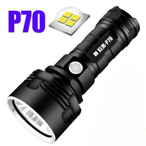 1X Shadowhawk Super-bright Flashlight CREE LED P70 Torch Light Without Battery
