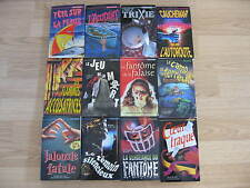 Collection Frissons lot of 13 book french