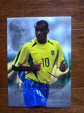 2011 Futera Greats Unique Soccer Card - Brazil RIVALDO Mint