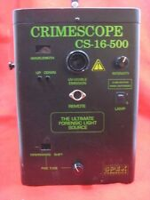 CS-16-500 CrimeScope Forensic Light Source Parts/Repair
