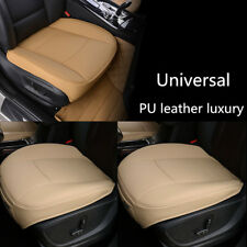 Beige PU Leather Luxury Car Seat Protector Seat Cover For BMW/Toyota/ VW/ Nissan