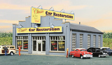 Walthers Cornerstone Classic Car Restoration Building (N Scale) 933-3824