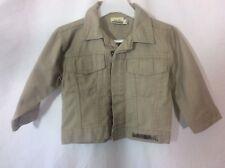 veste jeans beige Sergent Major   taille 2 ans  très bon état (C1042)