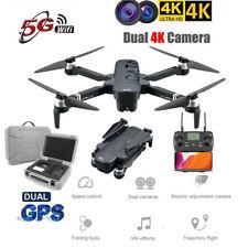5G WIFI GPS Drone FPV 4K Camera Brushless Motor Selfie Foldable RC Quadcopter