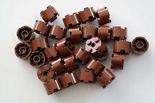 30 Lego Bausteine 2x2 rund neu-braun NEU Grundsteine Basic Steine 3941