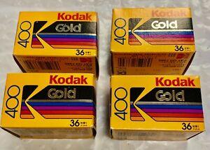 Kodak Gold 400 ISO 36 Exp Expired Film (1992 Expirn. Date)- Vintage New- 4 rolls
