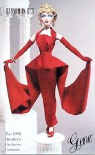 "Gene Doll Clothes ""Ransom In Red"" Ashton Drake Galleries New Nrfb 1998 Coa"
