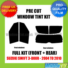 SUZUKI SWIFT 3-DOOR 2004-2010 FULL PRE CUT WINDOW TINT
