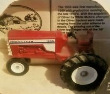 1/25 White Oliver 1855 Tractor Country Classics Scale Model New in Box