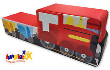 Implay® Soft Play PVC Foam Children's Sit-on Train Fun Activity Toy