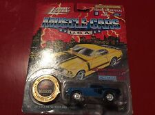 1971 hemi cuda barracuda mopar Johnny Lightning Jl 1/64 muscle cars Usa 1994