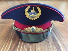 KAZAKHSTAN POLICE HAT CAP - ORIGINAL!  CURRENT 2018