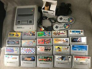 Nintendo Super Famicom SFC Console +PAD +games