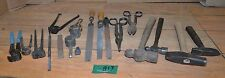 19 blacksmith tong cutter nipper hammer collectible forge vintage anvil tools