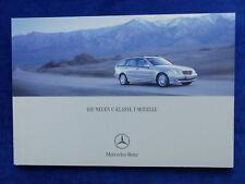 Mercedes-Benz C-Klasse T-Modelle C 32 AMG Typ S203 - Prospekt Brochure 02.2001