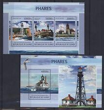 Guinea 2013 - Leuchttürme USA Leuchtfeuer- US Lighthouses - Phares - Faros - Fyr