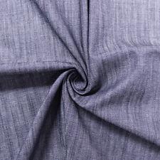 Stretch Slub Cotton Denim 6 oz Fabric by the Yard or Sample Swatch