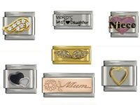 Classic Italian Charm fits Nomination 9mm Charm Bracelets Various Design *UK*