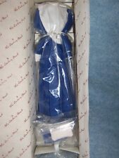 Princess Diana Royal Wardrobe by Danbury Mint (Blue & White Shirtwaist) #16