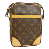 LOUIS VUITTON DANUBE CROSS BODY SHOULDER BAG MONOGRAM M45266 AUTHENTIC RK14211k
