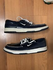 Nike Mad Jibe Casual Shoe Navy Snakeskin RARE SIZE 6.5
